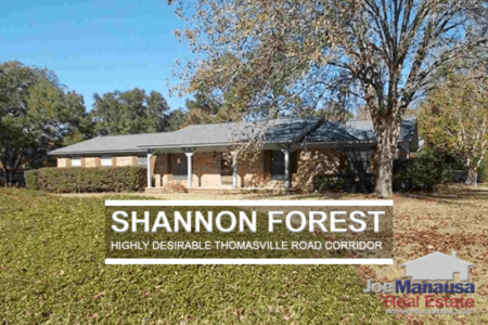 Shannon Forest Listings & Home Sales Report January 2018