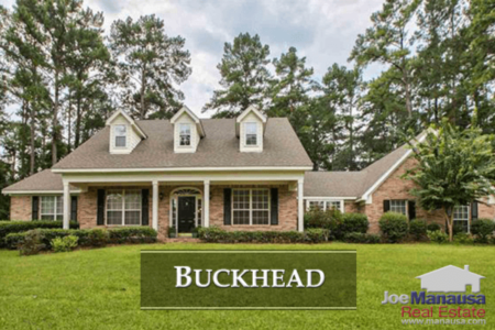 Buckhead Home Listings And Sales Report March 2018