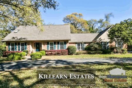 Killearn Estates Listings & Home Sales Report May 2018