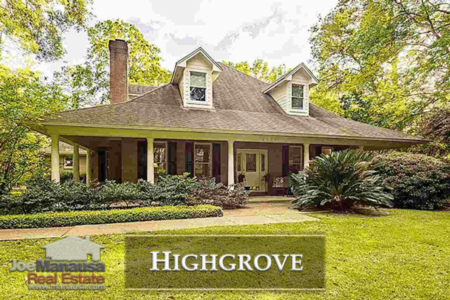 Highgrove Listings And Real Estate Report July 2018