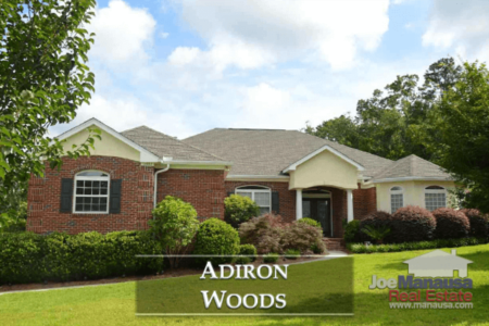Adiron Woods Listings And Home Sales Report July 2018