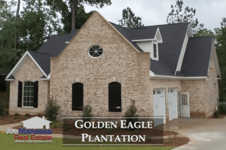 Golden Eagle Plantation Listings & Home Sales Report August 2018