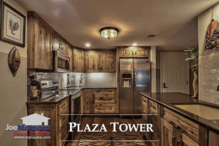 Plaza Tower Condo Listings And Sales Report August 2018