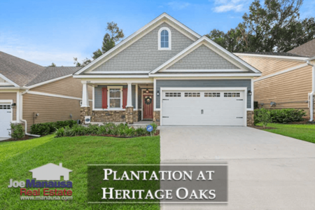 Plantation At Heritage Oaks Listings & Home Sales Report September 2018