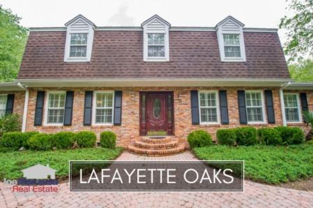 Lafayette Oaks Listings & Home Sales Report September 2018