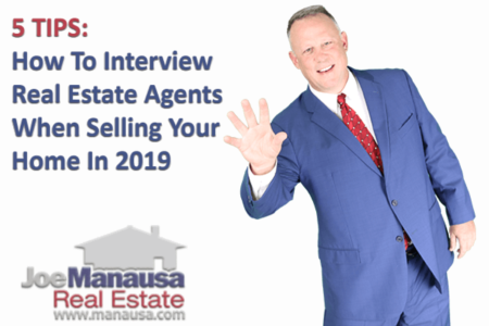 5 Tips For Interviewing Real Estate Agents When Selling A Home