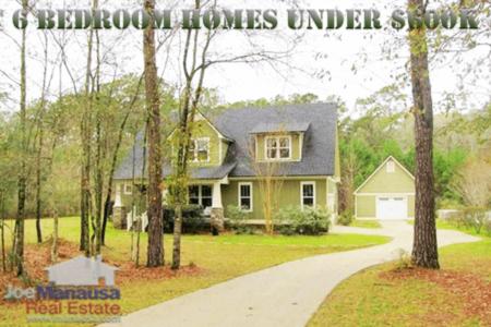 6 BR Homes Under $600K