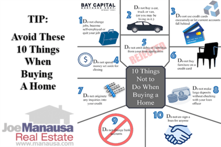 Buying A Home? Here Are Ten Bad Mistakes You MUST Avoid