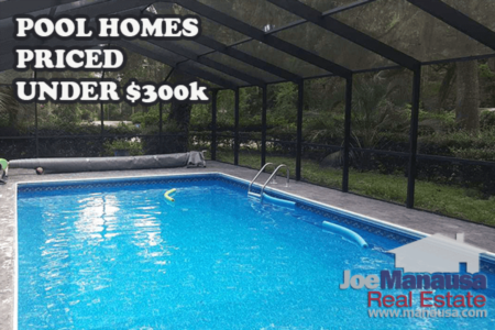 Where To Find A Pool Home UNDER $300K In Tallahassee