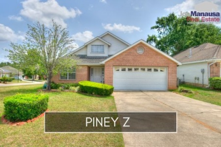 Piney Z Listings and Sales Report August 2019
