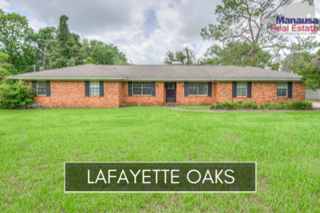 Lafayette Oaks Listings & Real Estate Report November 2019