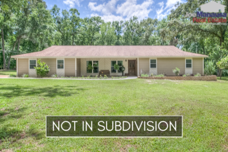 Homes for Sale in Tallahassee Outside of Subdivisions for November 2019