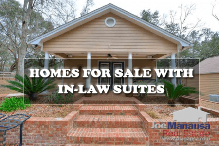 47 Tallahassee Homes For Sale With Mother-in-Law Suites