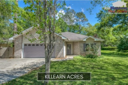 Killearn Acres Listings And Sales Report February 2020
