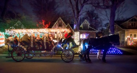 Must See Holiday Light Displays in Nashville