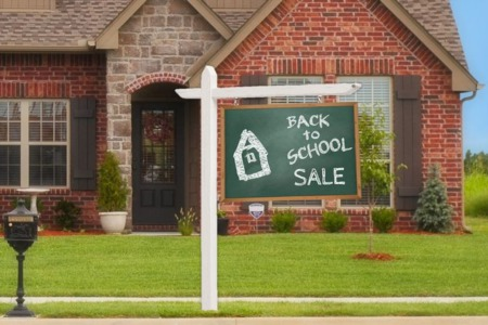 BACK TO SCHOOL WITH RISING HOME SALE NUMBERS