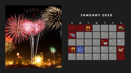 Jamming In January: Calendar Highlights
