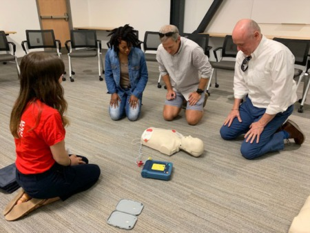 Agents Learn Lifesaving Skill