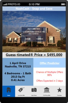 Just Released!  Amazing App for the Nashville Real Estate Market: NashCash