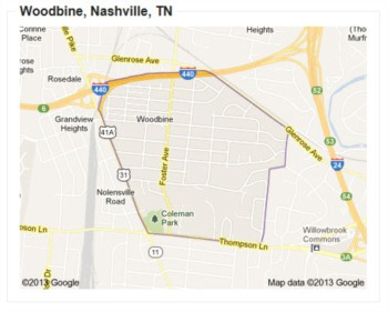 Here's Woodbine:  A Nashville Neighborhood on the Rise
