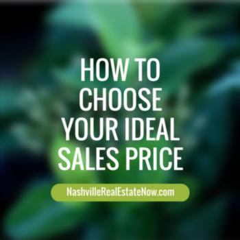 How to Choose Your Ideal Sales Price