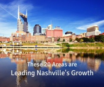 These 20 Areas are Leading Nashville's Growth