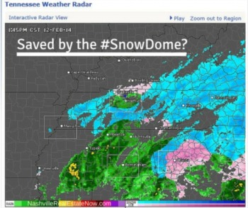 Saved by the Snow Dome?