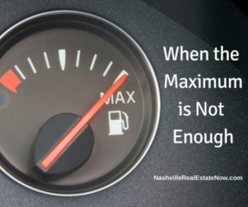 When the Maximum is Not Enough