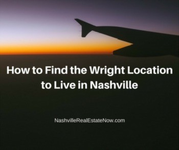 How to find the Wright location to live in Nashville