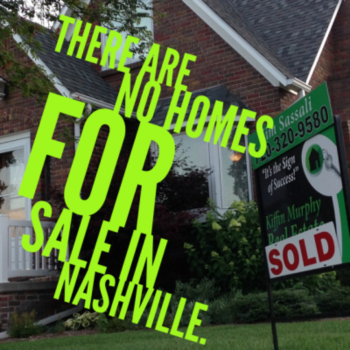 There are no homes for sale in Nashville