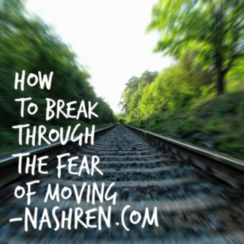 How to break through the fear of moving