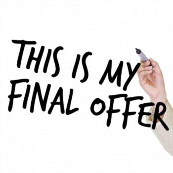 This is my final offer