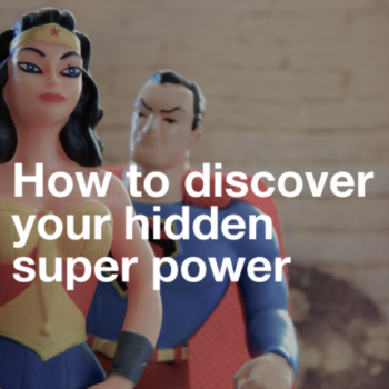 How to discover your hidden super power