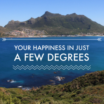 Your happiness in just a few degrees