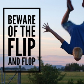 Beware of the Flip and Flop