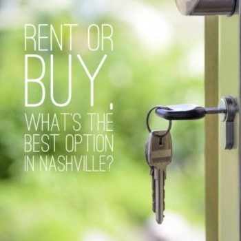 To buy or rent, what's the best option in Nashville?