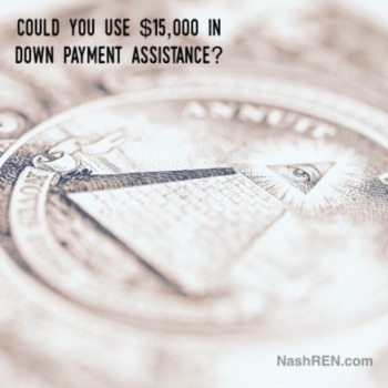 Could you use $15,000 in down payment assistance?