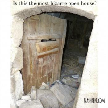 Is this the most bizarre open house?