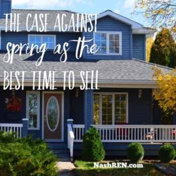 The case against Spring as the best time to sell