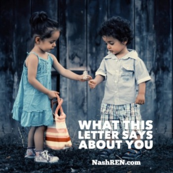 What this letter says about you