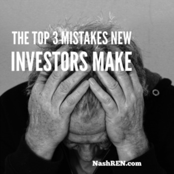 The top 3 mistakes new investors make