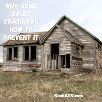 Why home sales crash and how to prevent it