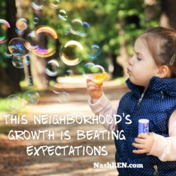 This Neighborhood's growth is beating expectations