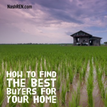 How to find the best buyer for your home