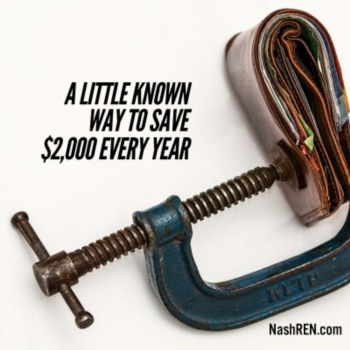A little known way to save $2,000 every year