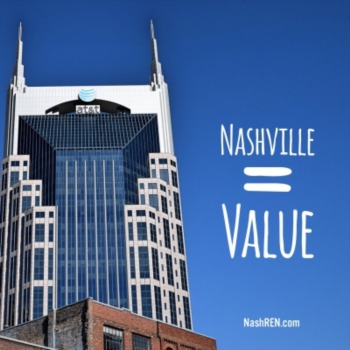 If you want value, Nashville will get you there