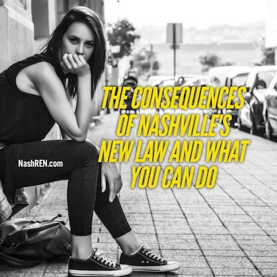 The Consequences Of Nashville's New Law And What You Can Do About It