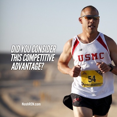 Did you consider this competitive advantage?