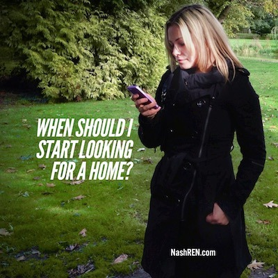 When Should I Start Looking For A Home?
