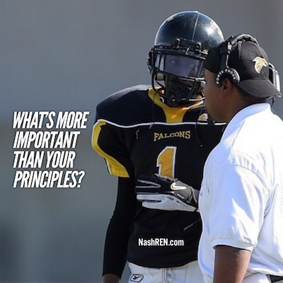 What's more important than your principles?